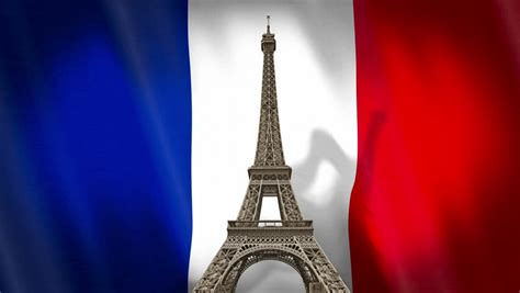 eiffel tower souvenir  french stock footage video