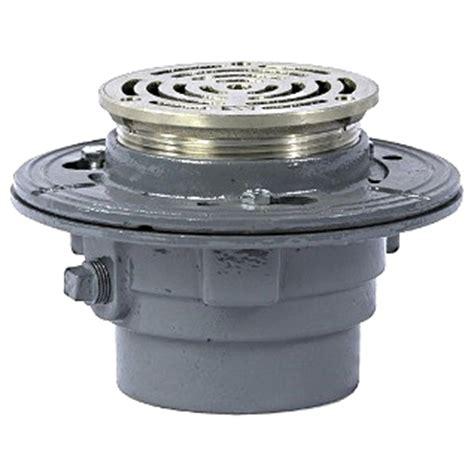 watts fd 100 b5 heavy duty floor drain 5 in nb top strainer