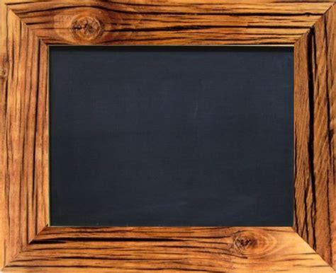 weiße tafel mit a tafel mit holzrahmen gebeizt 5cm schwarz