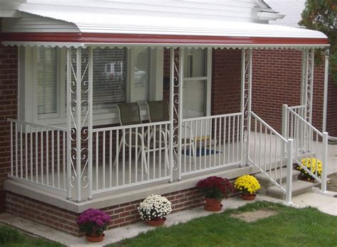build  front porch awning randolph indoor  outdoor design
