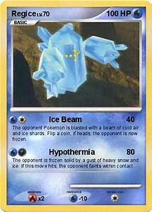 Pokémon Regice 99 99 - Ice Beam - My Pokemon Card