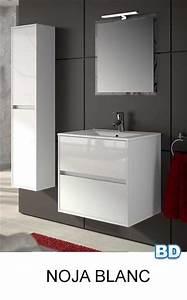 meuble salle de bain noja salgar bano decoracion france With meuble sdbain