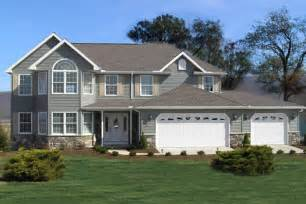 two story house featured two story home plan ashland