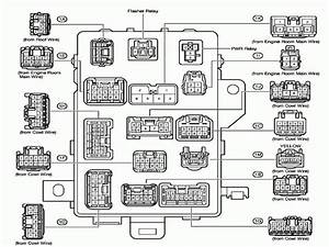 2003 Toyota Tacoma Fuse Box Diagram