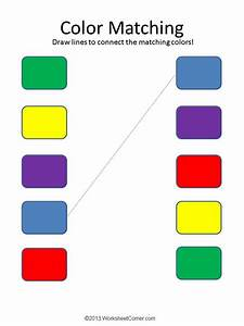 Free Printable Worksheets For Preschoolers About Colors