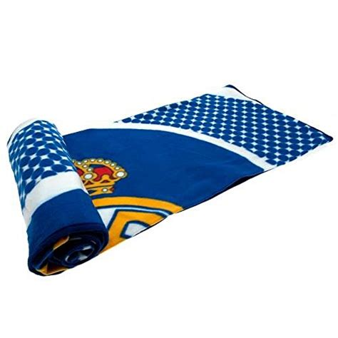 cool gifts for football fans gift ideas official real madrid fc fleece blanket a