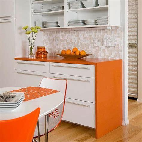 Orange Kitchen Colors, 20 Modern Kitchen Design And