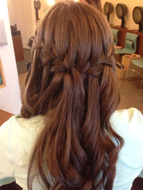 Best 25  Waterfall braid prom ideas on Pinterest