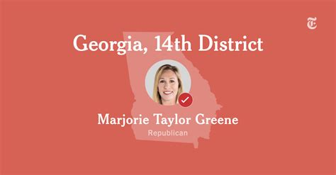 georgia  congressional district results marjorie