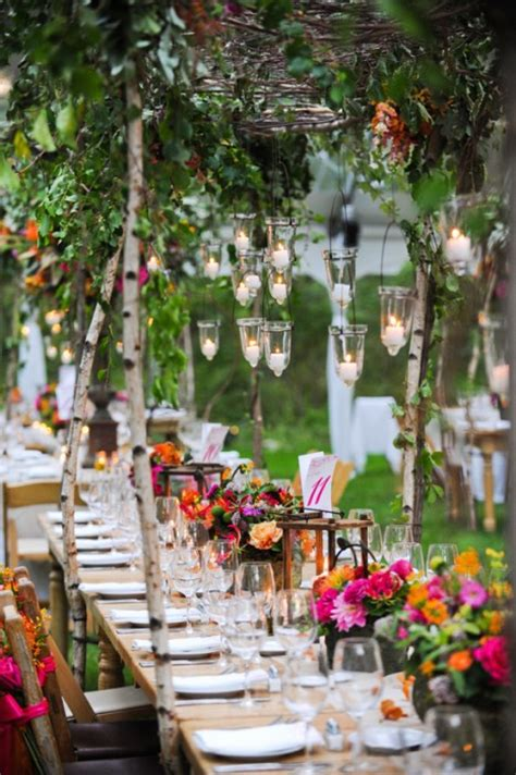 wedding table decorations for outside outdoor wedding decorating ideas