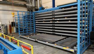 metal sheet rack horizontal eurostorage storage sheets  profiles