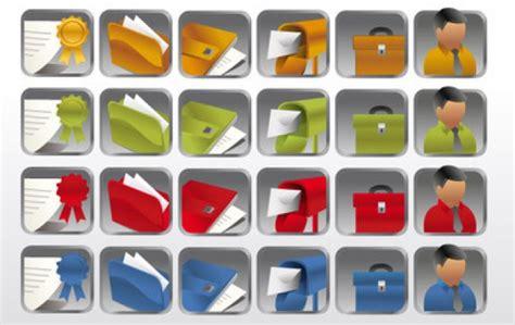 icone bureau collection d 39 icônes de bureau dossier bureau