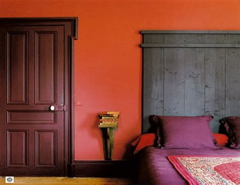 peinture prune chambre couleur chambre association prune et pourpre