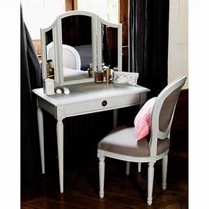Miroir Maquillage Ikea : meuble coiffeuse avec miroir conforama table de lit ~ Teatrodelosmanantiales.com Idées de Décoration
