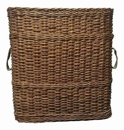 Basket Wicker Artillery Chairish Baskets Countryside French