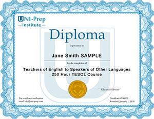 diploma courses free advanced course by uni prep for tesol diploma