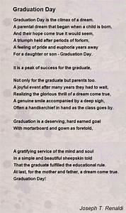 Graduation Day Poem by Joseph T Renaldi  Poem Hunter