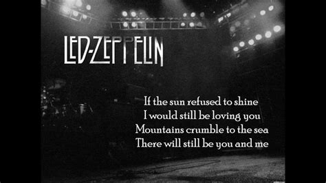 17 Best Ideas About Led Zeppelin Thank You On Pinterest