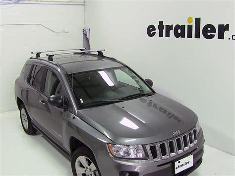 thule roof rack  jeep compass  etrailercom