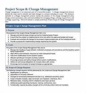 sample change management plan template 9 free documents With change management process document template