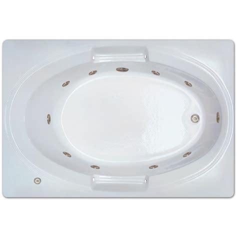 45 ft drop in bathtub 5 ft left drain drop in rectangular whirlpool bathtub in