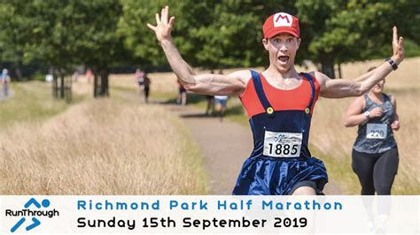 mercedes half marathon 2019 runthrough richmond park half marathon september 2019