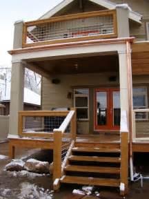 deck railing ideas home pinterest