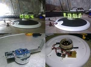 Led Pov Clock Arduino Pro Mini