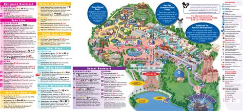 disney world magic kingdom map  desktop backgrounds