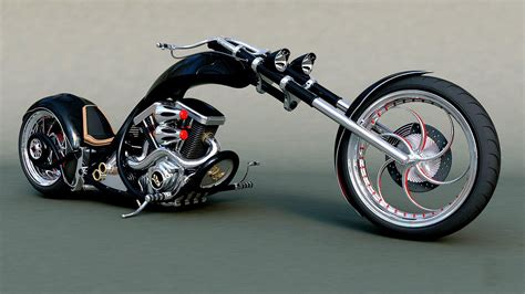 Hd Chopper Bike Tuning Motorbike Motorcycle Hot Rod Rods