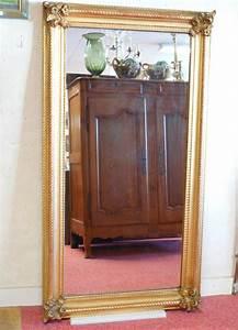 Miroir Doré Rectangulaire : miroir rectangulaire en bois et stuc dor poque niii miroirs de chemin e ~ Teatrodelosmanantiales.com Idées de Décoration