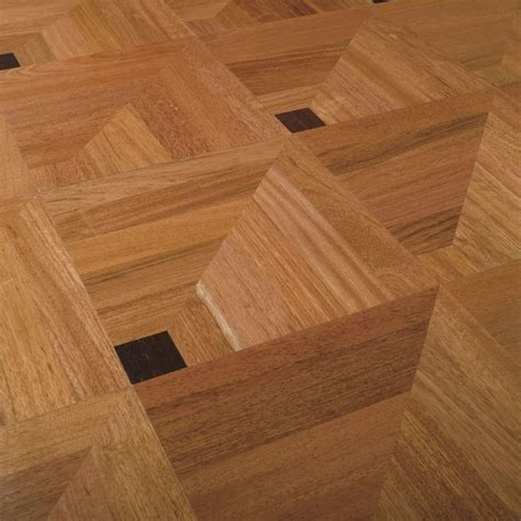3d illusion solid wood floor tile http www archiexpo