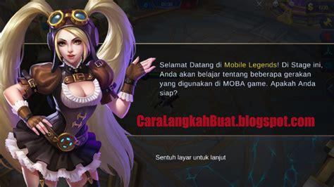 cara membuat akun mobile legend cara membuat akun baru mobile legend di hp android dengan