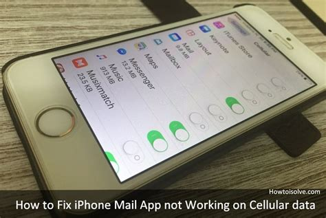 mail not working on iphone iphone mail app not working on cellular data here s fix Mail