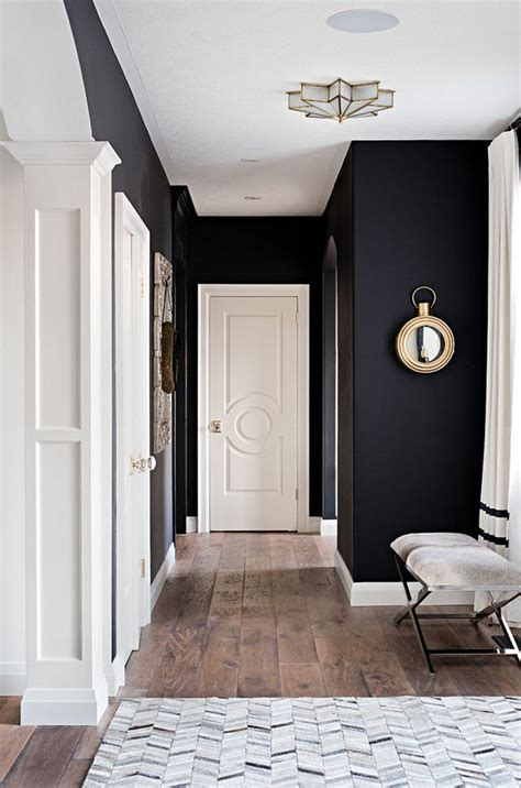 colours in small spaces home things black walls black painted walls home decor