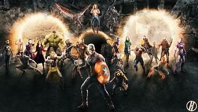 Avengers Assemble Oc Endgame Concept