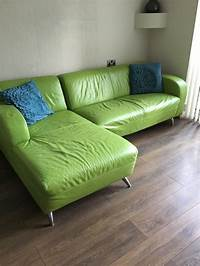 lime green couch lime green sofa leather | Brokeasshome.com