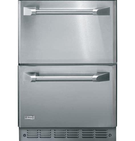 zkdp monogram professional panels  double drawer refrigeration module zidi ge