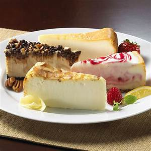 Gourmet Cheesecake Sampler by GourmetGiftBaskets.com