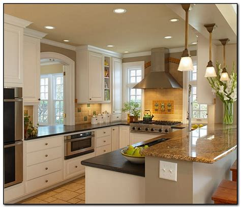 Ushaped Kitchen Design Ideas Tips  Home And Cabinet Reviews