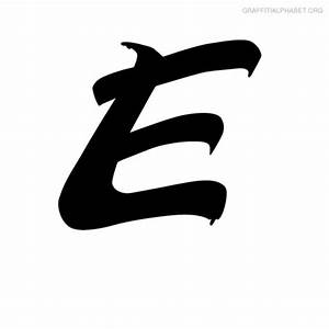 Gallery For > Cool Letter E Fonts