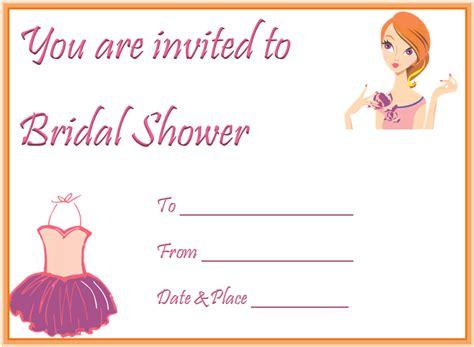captivating bridal shower invitation templates