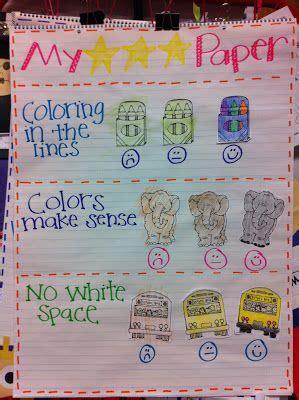 ideas  kindergarten rubrics  pinterest