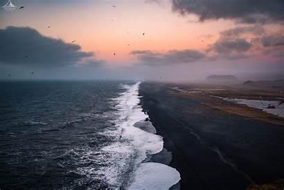 Sand Iceland Sunset Wallpapers 4k Desktop Free4kwallpapers
