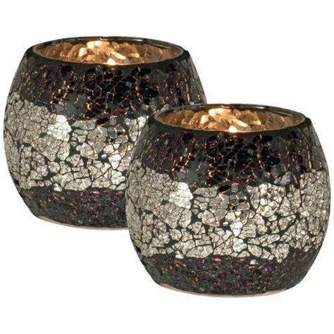 quartz candle holder dale quartz glass votive candle holder set of 2