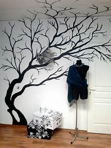Baum An Wand Malen : moderne wandbilder f r ihre wohnung ~ Frokenaadalensverden.com Haus und Dekorationen
