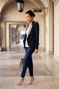 Basic Uniform  Black blazer u0026 Nude pumps - Wendyu0026#39;s ...