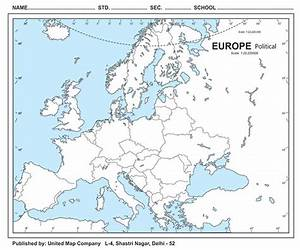 Europe Map Political Blank | www.pixshark.com - Images ...