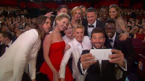 Oscar Al Mejor 'selfie' De La Historia  Gente Y Famosos