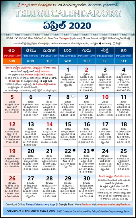 telangana telugu calendars  april festivals